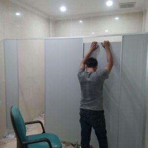 Proyek Cubicle Toilet di BKD